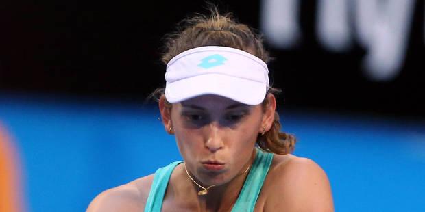 Australian Open: Elise Mertens sort la Croate Martic et rejoint les quarts de finale (7-6, 7-5) - La Libre