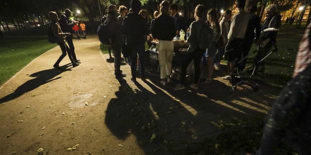 Grosse opération policière prévue ce dimanche soir au parc Maximilien à Bruxelles - La Libre