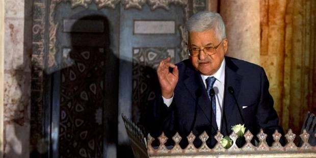 Mahmoud Abbas repart de Bruxelles (presque) les mains vides - La Libre