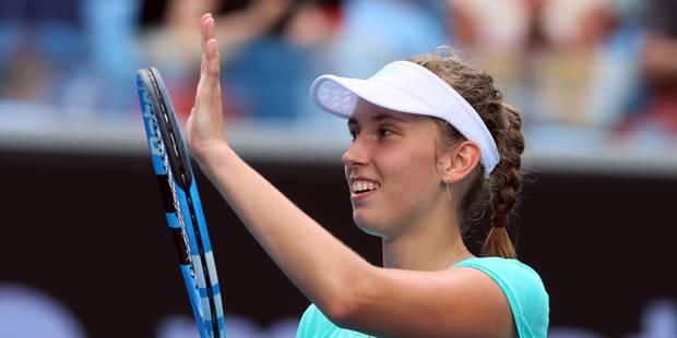 Australian Open: Elise Mertens ne fait qu'une bouchée de Svitolina et file en demi-finale (6-4, 6-0) - La Libre