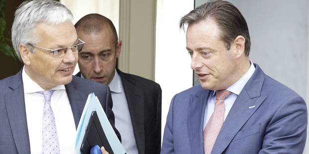 Reynders et De Wever ensemble chez Bruneau pour parler élections anticipées - La Libre
