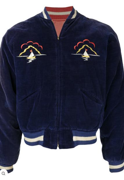Fake Alpha Vintage. Veste bomber réversible Souvenir.                              1514 euros.