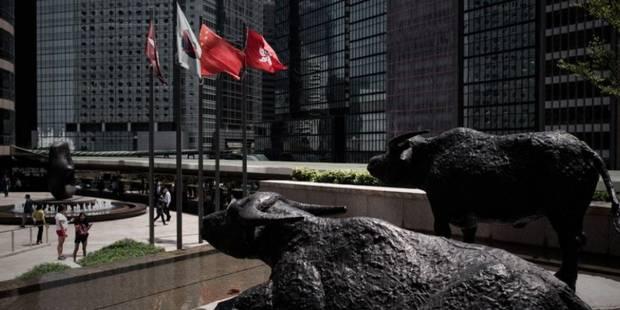 La Bourse de Hong Kong perd près de 1% en clôture - La Libre