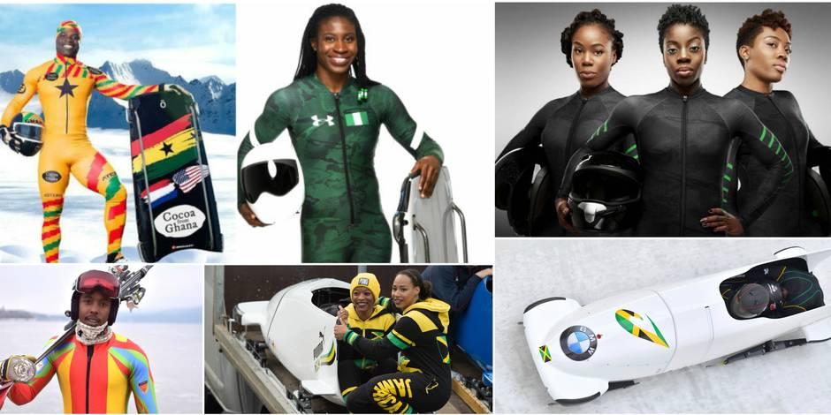 Rasta Rockett 2.0, un Bob africain, un Canada dry... : les improbables qualifiés des Jeux d'Hiver 2018