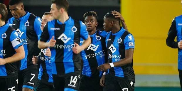 Bruges s'impose face à Ostende (3-2) et creuse l'écart - La Libre