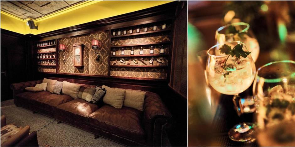 Arthur Orlans, le nouveau bar chic de Bruxelles où boire un Gin Tonic