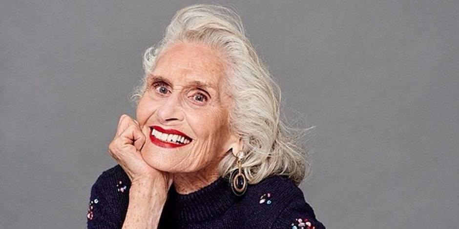 Daphne Selfe, mannequin à 89 ans