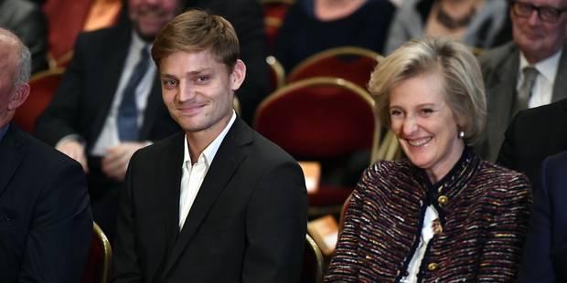 """David Goffin """"très honoré et fier"""" de recevoir le Trophée National du Mérite Sportif - La Libre"""