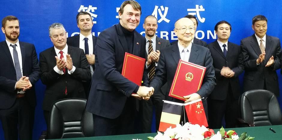 """Denis Ducarme, en visite à Pékin: """"On ouvre la Chine aux exportations de boeuf et de volaille belges"""" - La Libre"""