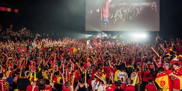 Belgique-Angleterre a cartonné chez les supporters belges, gros flop pour le Panama - La Libre
