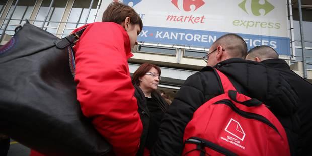 Mécontente du conseil d'entreprise de Carrefour, la Setca ne prévoit pas d'actions pour le moment - La Libre