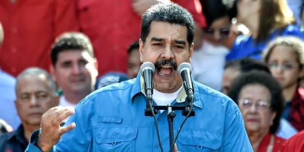 Venezuela: le président Maduro candidat à sa réélection - La Libre