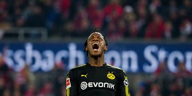 Michy Batshuayi marque un doublé pour son premier match avec le Borussia ! (VIDEOS) - La Libre
