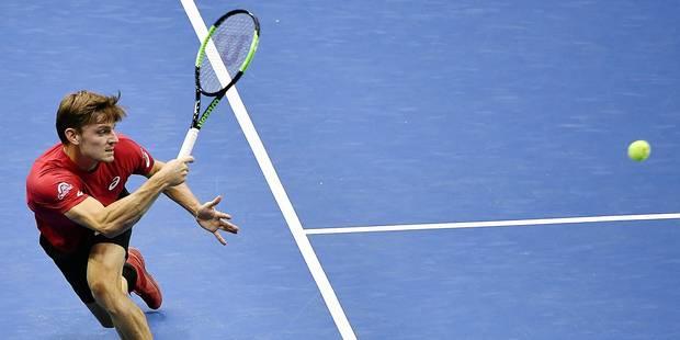 """Goffin a aligné un dixième succès de rang en simple en Coupe Davis: """"La confiance est là"""" - La Libre"""