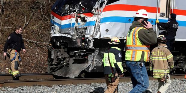 Accident ferroviaire en Caroline du Sud: 2 morts et plus de 100 blessés après une collision - La Libre
