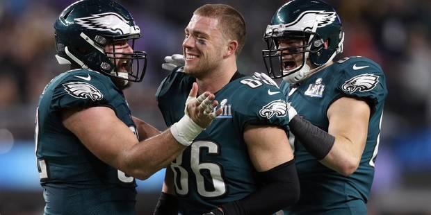 Superbowl : Les Eagles créent l'exploit face aux Patriots (41-33) - La Libre