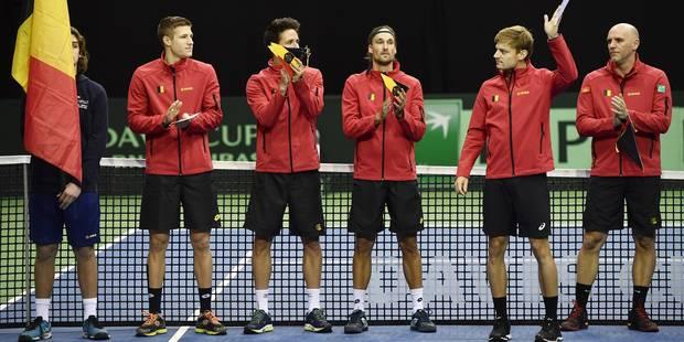 Coupe Davis: un quart de finale tout sauf évident face aux Etats-Unis - La Libre