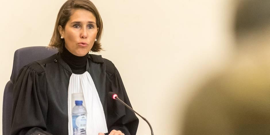 Marie-France Keutgen: portrait de la juge qui devait faire parler Abdeslam à son procès - La Libre