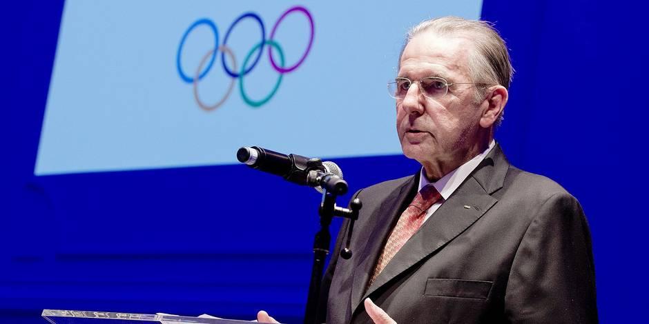"""Malgré l'âge, Jacques Rogge continue de suivre les Jeux avec intérêt: """"Je suis un privilégié"""" - La Libre"""