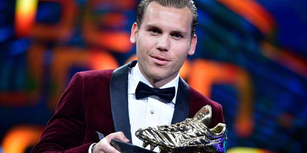 Football: Ruud Vormer (FC Bruges) remporte le Soulier d'Or 2017 - La Libre