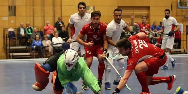 Coupe du monde de hockey en salle: Les Indoor Red Lions se reprennent contre l'Iran (3-3) - La Libre