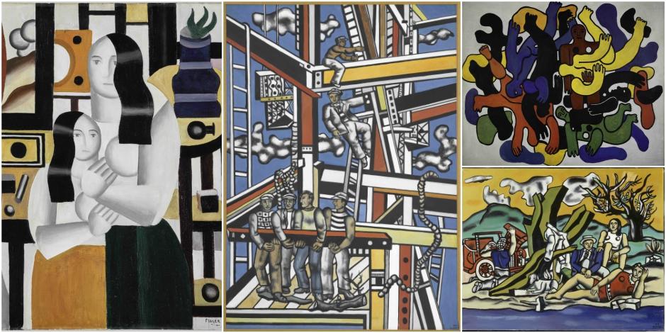 """Superbe expo Fernand Léger : """"le Beau est partout »"""