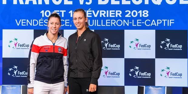 Fed Cup: Elise Mertens ouvrira le bal face à Pauline Parmentier - La Libre