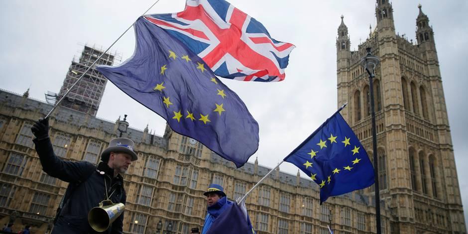 Les négociations du Brexit repartent cahin-caha - La Libre