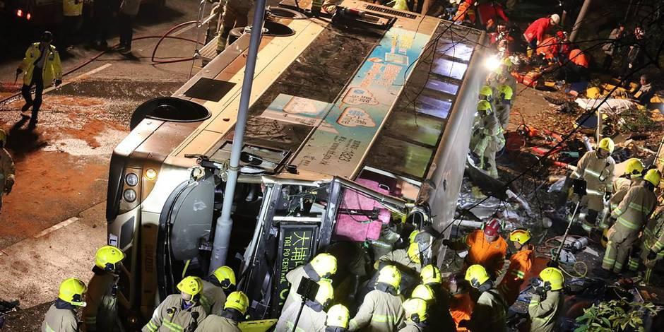 Un accident à Hong Kong fait de nombreux morts