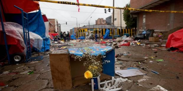 L'explosion d'une bonbonne de gaz fait plus de 20 morts en marge des célébrations du carnaval en Bolivie - La Libre
