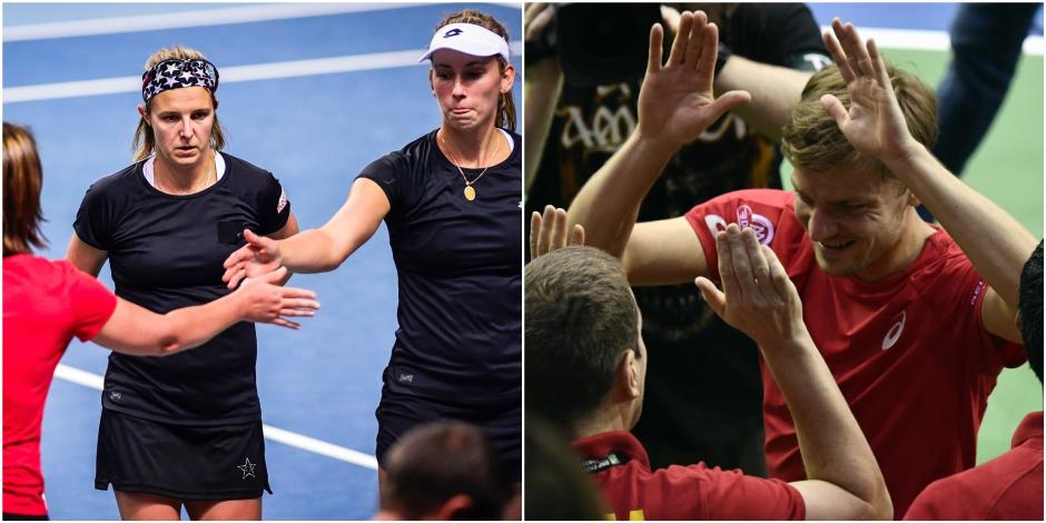 Fed Cup - Coupe Davis : le jeu des différences - La Libre