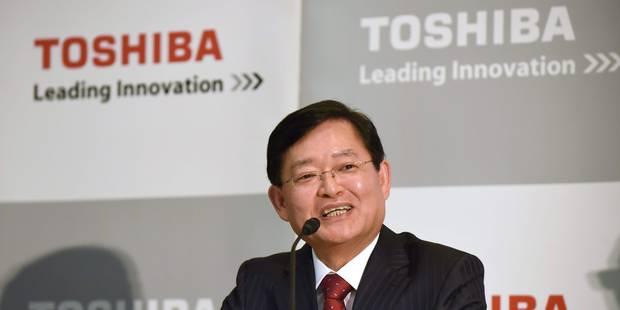 En pleine restructuration, Toshiba change de PDG - La Libre