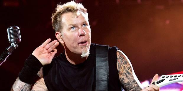 Metallica reçoit la récompense intellectuelle ultime en musique - La Libre