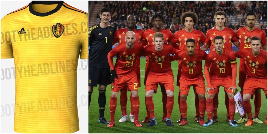 Un maillot jaune pour les Diables en Russie en guise de signe prémonitoire?