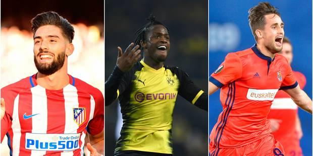 Europa League: Carrasco à l'assist, Batshuayi double buteur avec Dortmund, Januzaj inscrit un joli but sur coup-franc! (...