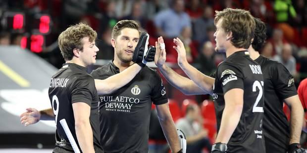 Euro hockey en salle: le Racing qualifié pour les demi-finales, un incroyable suspense contre Arminen - La Libre