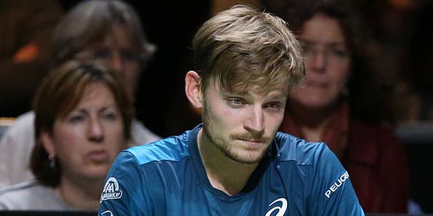 Après avoir reçu une balle dans l'oeil face à Dimitrov, Goffin abandonne et déclare forfait pour le tournoi de Marseille...