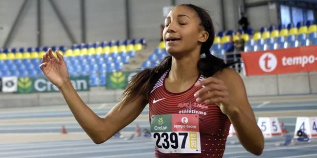 Championnats de Belgique d'athlétisme indoor: Nafi Thiam en argent sur le saut en longueur et en bronze sur les haies - ...