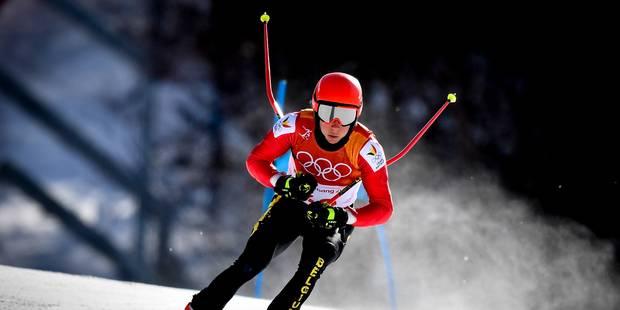 JO 2018 l Sam Maes 32e du slalom géant enlevé haut la main par Marcel Hirscher - La Libre