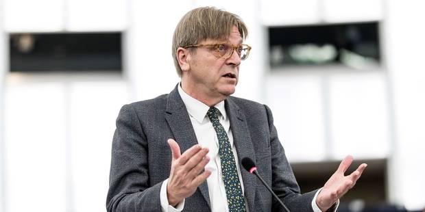 Élections communales 2018 : Guy Verhofstadt se verrait bien siéger au conseil communal de Gand - La Libre