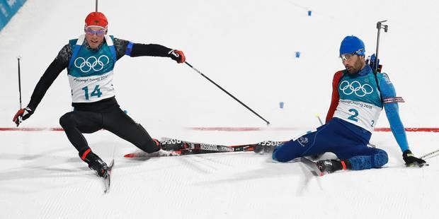 """JO 2018 l Martin Fourcade devient le Français le plus titré de l'histoire des Jeux d'hiver : """"Un final un peu fou !"""" - L..."""