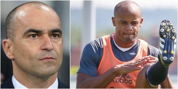 """Martinez fait le bilan à quatre mois du Mondial: """"Je ne prendrai Kompany que s'il est fit"""" - La Libre"""