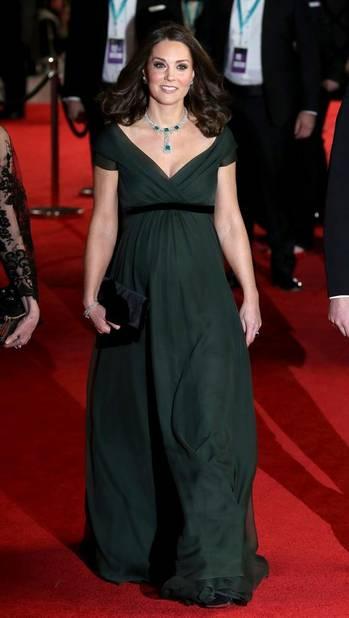 Kate Middleton en Jenny Packham