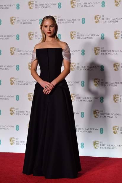 Jennifer Lawrence en Christian Dior Haute Couture