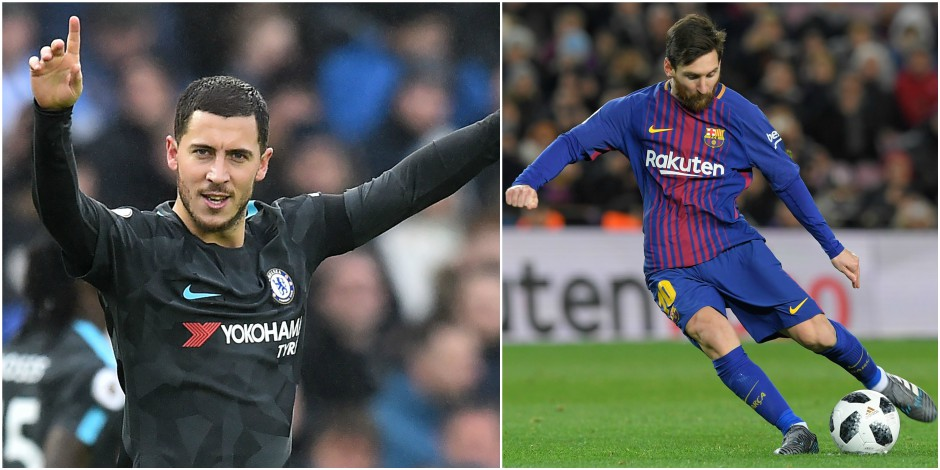 Lionel Messi opposé à Eden Hazard en Champions League: quelles différences et quelles similitudes entre les deux joueurs...
