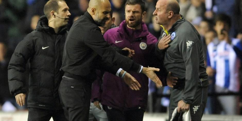 City émiminé par un club de D3 en FA Cup: Ça a chauffé en fin de match!