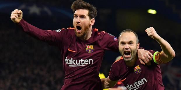 Champions League: Chelsea et le Barca se neutralisent (1-1), le Bayern en passe 5 au Besiktas - La Libre