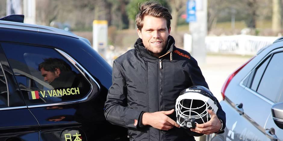 """Vincent Vanasch, le meilleur gardien de hockey du monde: """"Tous les mois, je calcule mes dépenses"""" - La Libre"""