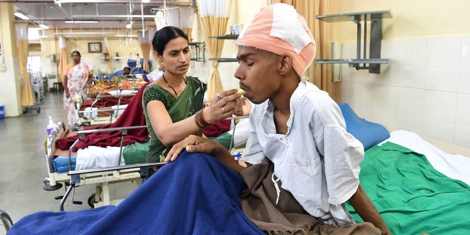 Une tumeur de 1,8 kg au cerveau retirée avec succès — Inde