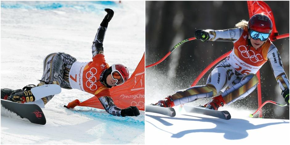 JO 2018: Ledecka en or en snowboard, après son titre en Super-G alpin